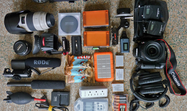 Tips for Traveling With Your Production Gear: Don't Overpack
