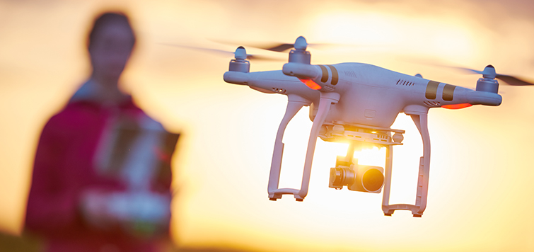 It's Now Legal to Fly Drones for Commercial Use - In Flight