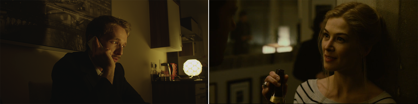 Set Hack: Hollywood Lighting With Simple Household Items - Fincher comparison