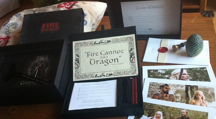 How to Create a Dynamic Press Kit - Game of Thrones Press Kit