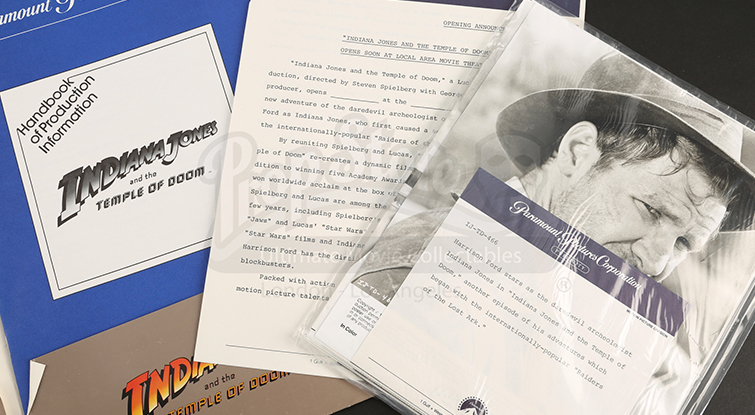 How to Create a Dynamic Press Kit - Indiana Jones Press Kit