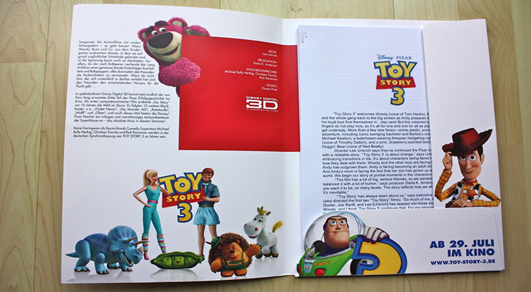 How to Create a Dynamic Press Kit - Toy Story 3 Press Kit