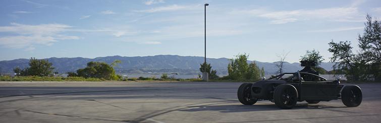 The Mill's Blackbird Camera Car is a Real Life Autobot: Sleek