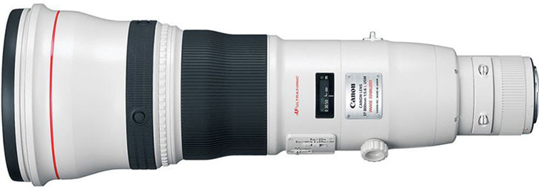 Major Camera Rumors from Canon - Canon 800mm