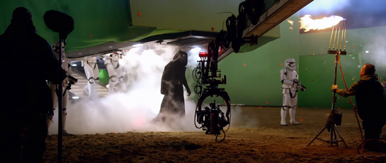 Tips for Shooting Behind-the-Scenes Footage: The Force Awakens