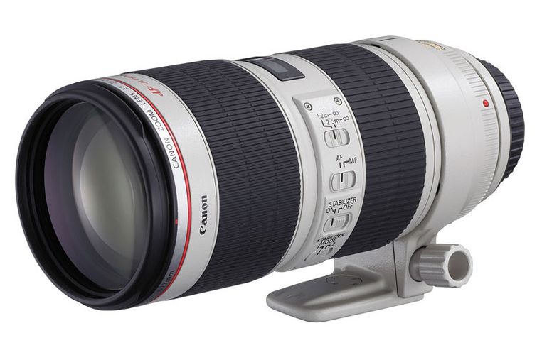The Lightweight International Packing List for Video Pros - Canon EF 70-200mm f/2.8L IS II USM Lens