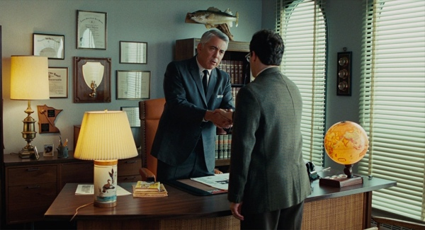 Add Background Lighting To Achieve Three-Dimensional Space: A Serious Man - Practical lights