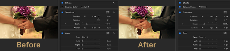 White Balance Footage in Final Cut Pro X: Auto White Balance