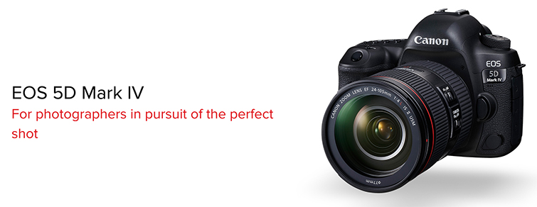 The Canon 5D Mark IV - Out now