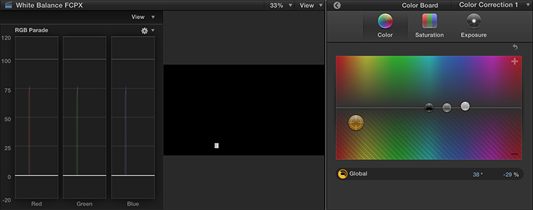 White Balance Footage in Final Cut Pro X