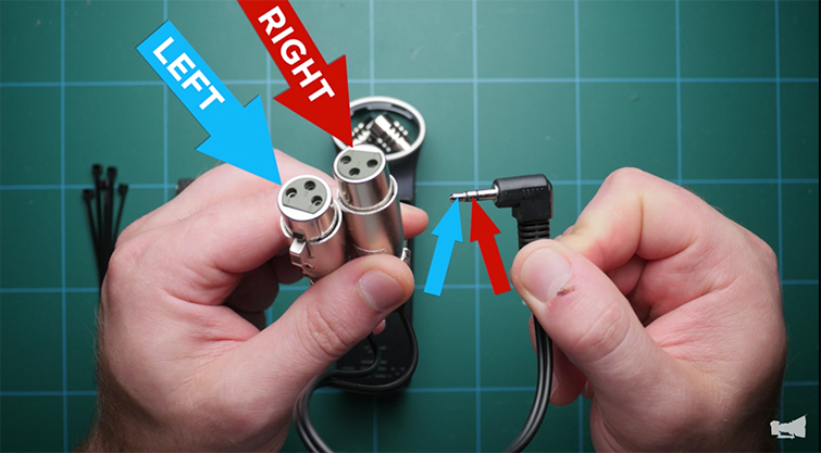 Hack Your H1 Audio Recorder for $15 - XLRs