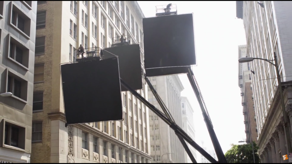 Tips For Filming and Lighting in the Rain : Inception Flags