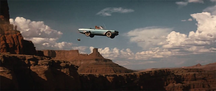 The Art of the Freeze Frame: Thelma & Louise