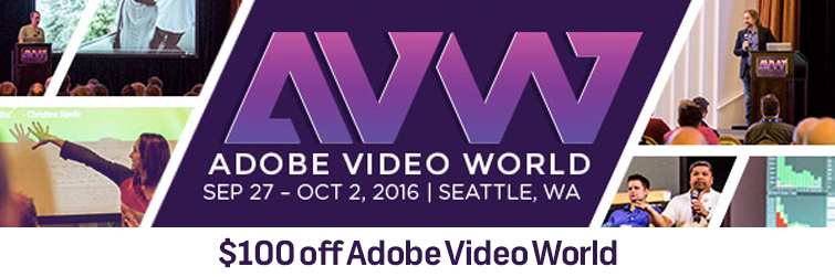 Roundup: Discounted (and FREE) Editing and Graphics Assets! Adobe Video World