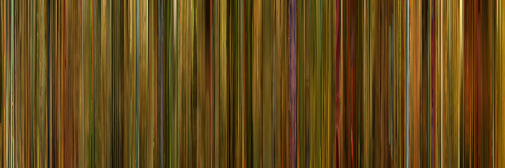 Color Grading Inspiration: Movie Barcodes and Color Palettes: Amelie