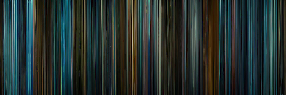 Color Grading Inspiration: Movie Barcodes and Color Palettes: Blade Runner