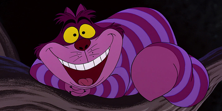 Famous Cats Throughout Film History - The Cheshire Cat