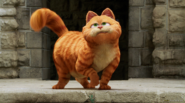 Famous Cats Throughout Film History - Garfield