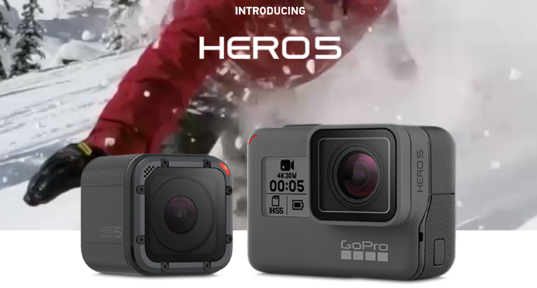 GoPro Releases New Hero5 and Impressive Karma Drone: GoPro Hero5