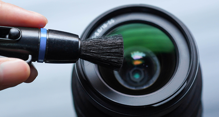 A Guide to Cleaning Lenses and Camera Sensors: Lens Brush