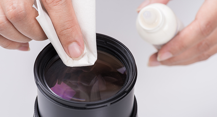 A Guide to Cleaning Lenses and Camera Sensors: Lens Cleaning