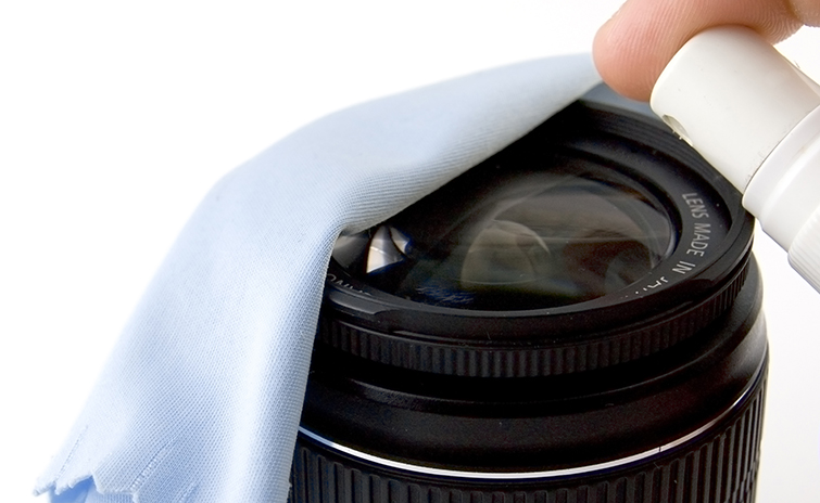 A Guide to Cleaning Lenses and Camera Sensors: Lens Cloth and Fluid