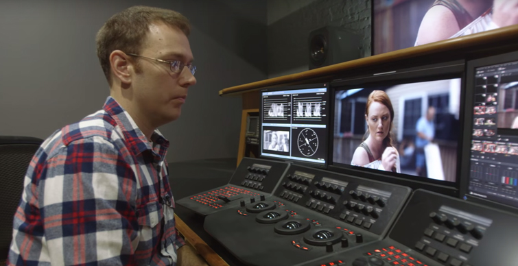 Go Inside a Professional Color Grading Suite: Behind the Scenes: Rob Bessette