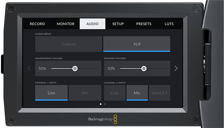 Hands-On Review: URSA Mini 4.6K with 4.0 Firmware Update - Audio