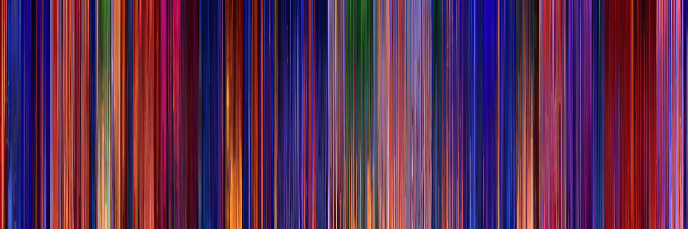 Color Grading Inspiration: Movie Barcodes and Color Palettes: Aladdin