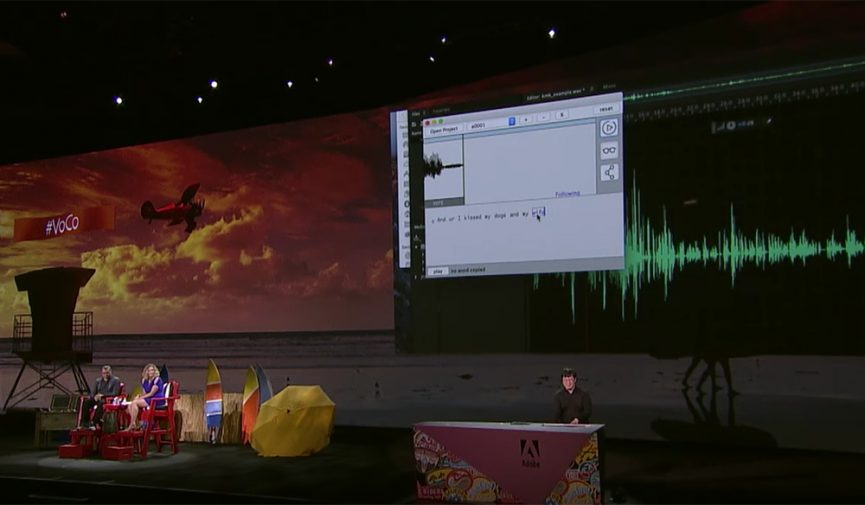 Adobe's Project VoCo Could Change How We Edit Audio
