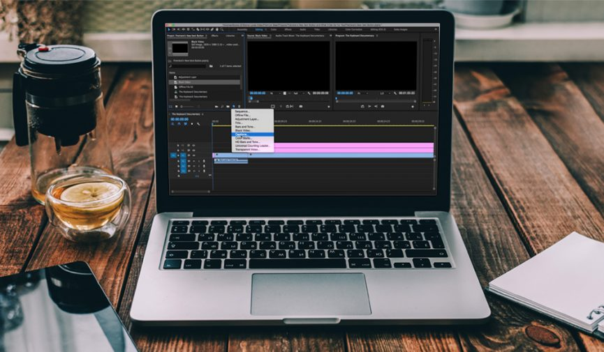 Premiere Pro's New Item Button and What It Can Do For You - Cover