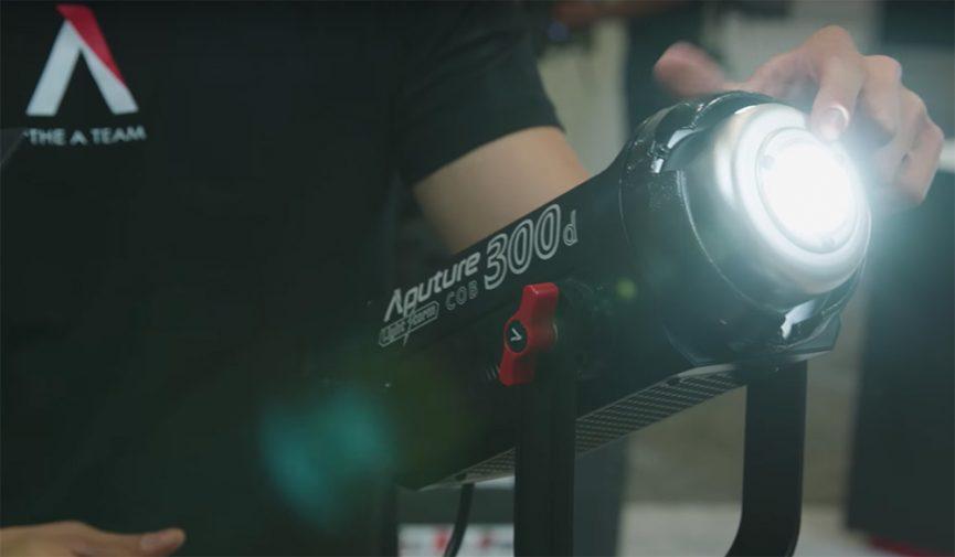 NAB 2017: Aputure's New 300D LED Light