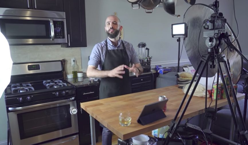 Interview: Behind the Scenes with YouTube's Binging with Babish