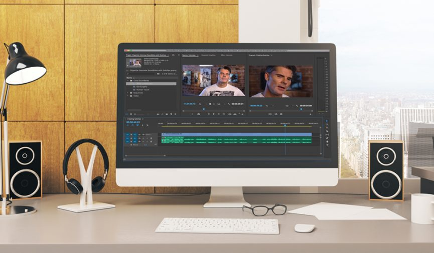 Use Subclips to Organize Interview Audio in Premiere Pro