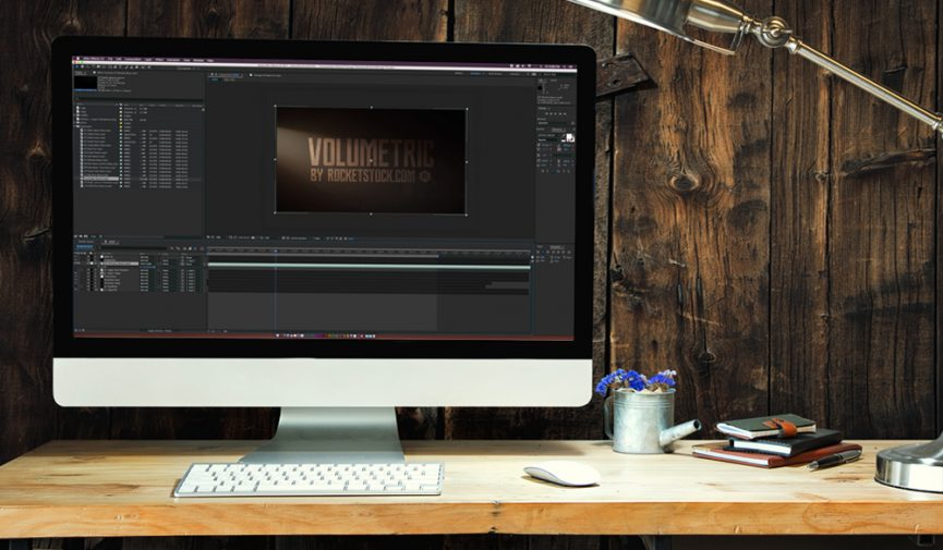 Using 16 FREE Light and Dust Overlays with Motion Graphics and Footage