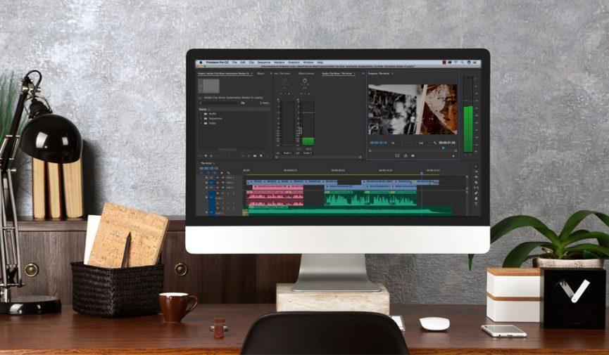 Audio Mixing in Premiere Pro's Clip Mixer