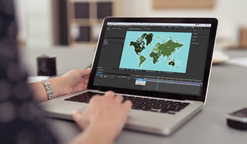 Customize Composition in Adobe After Effects Displays