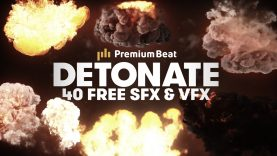Detonate: 40 FREE Explosion SFX and VFX Elements - Featured