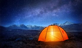 Three Ways To Light A Tent Scene On a Low Budget
