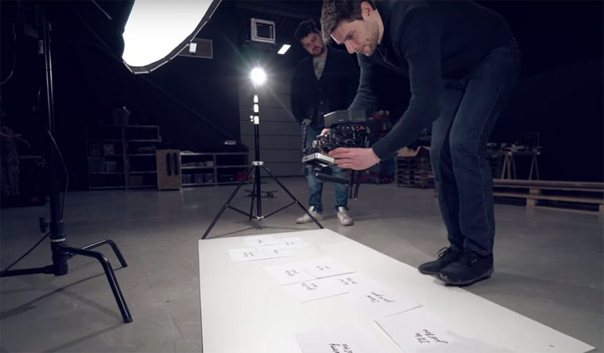 How to Shoot Practical Floating Text in Your Video