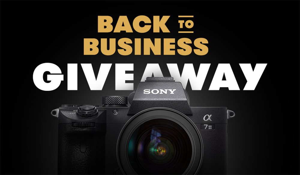 Back-to-Business Giveaway: Win A Sony A7III Bundle!