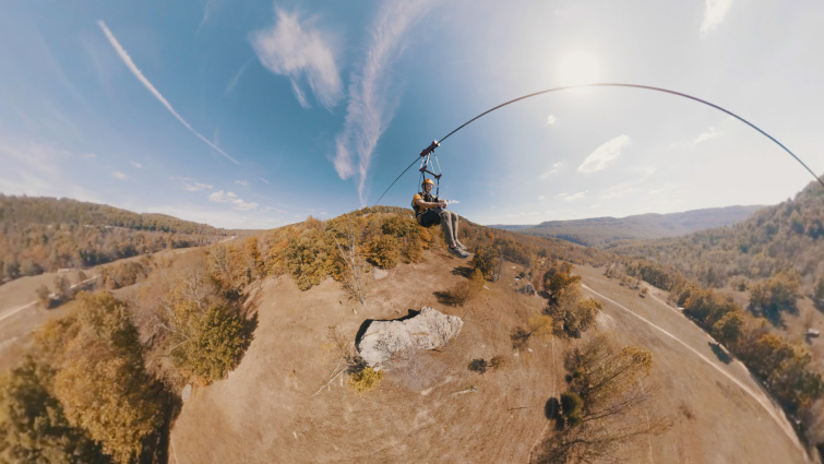 What Else Can You Do with Your 360° and VR Video Footage? — Ultra Wide-Angle Shot