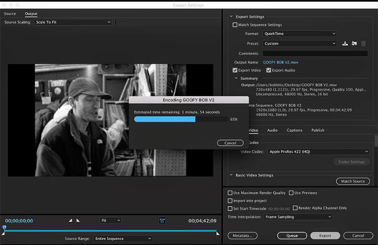 Rock Rubber 45s: Documentary Tips for Working with Archival Footage and Assets — Frame Rates and Resolutions