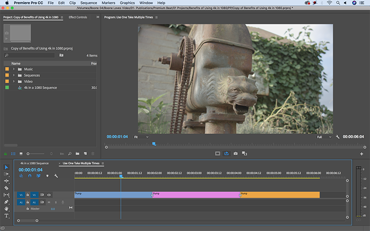 The Benefits of Working with 4K Footage in a 1080 Sequence — Use One Take