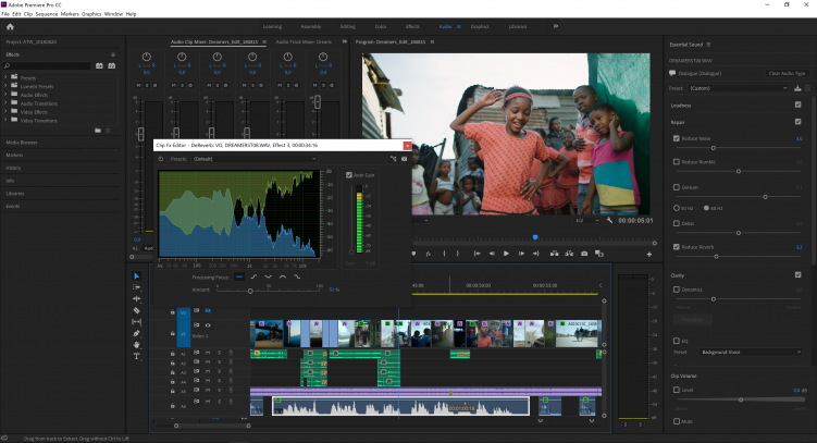 Video Tutorial: An Inside Look at Adobe Premiere Pro 2019 — Audio Cleanup Tools