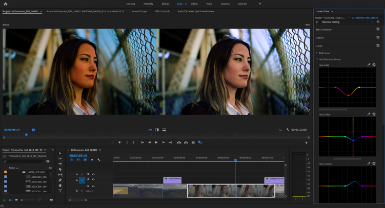Video Tutorial: An Inside Look at Adobe Premiere Pro 2019 — Selective Color Grading