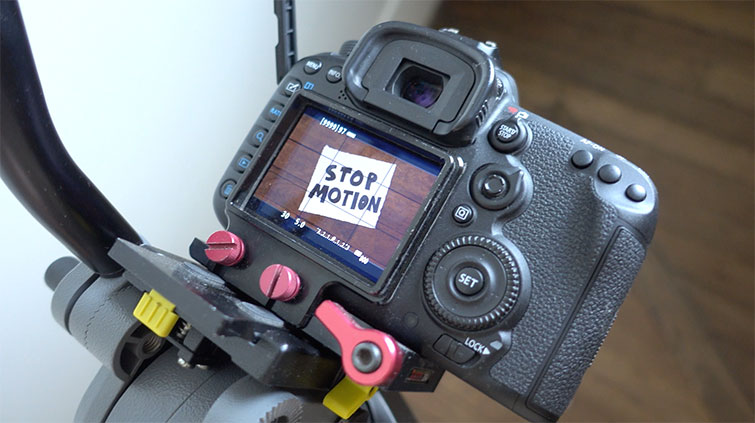 Video Tutorial: How to Get Started Creating Stop-Motion Video — Camera Position