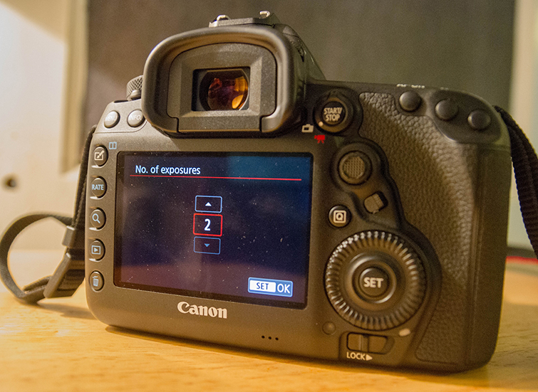 A Guide to In-Camera Multiple-Exposure Photography with the Canon 5D Mark IV — Different Combinations