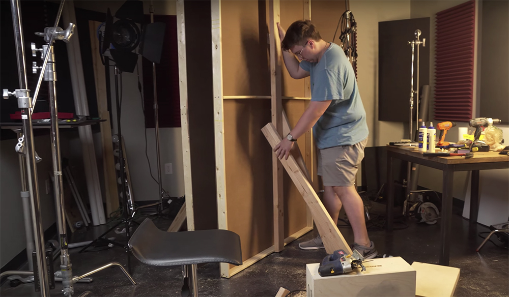 Learn How to Build Your Own Studio Set for Less Than $150
