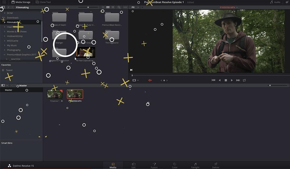 DaVinci Resolve 15 Video Crash Course — The Media Page